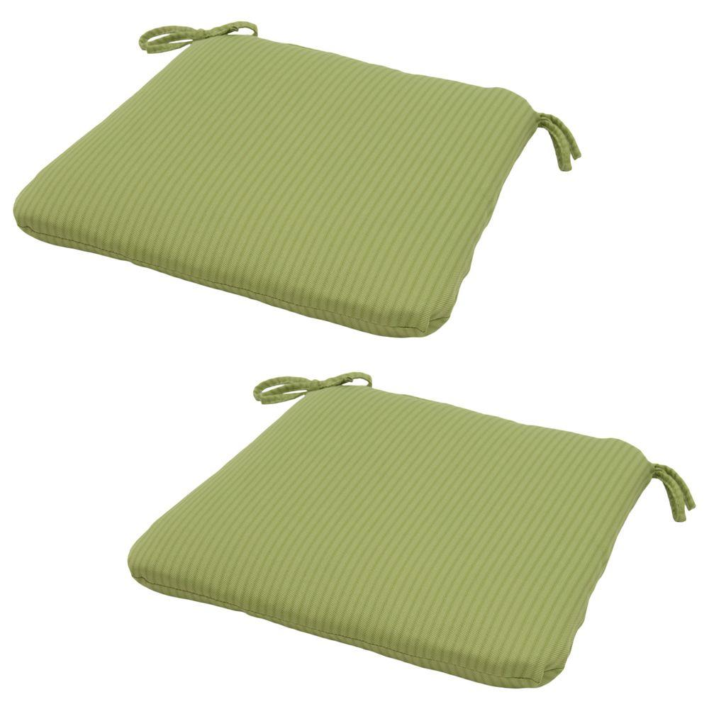 Hampton Bay 20 X 19 Outdoor Chair Cushion In Standard Apple Texture