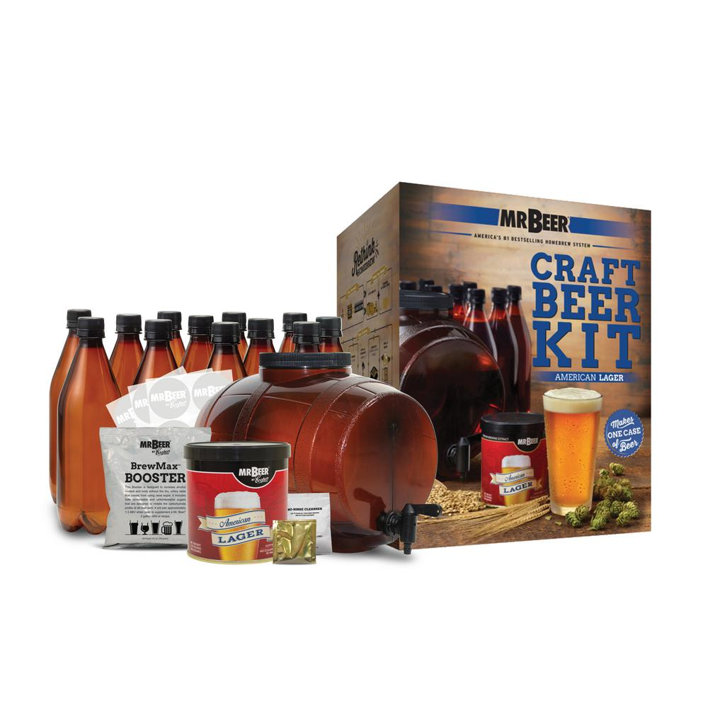 American Lager Complete Craft Beer Brewing Kit