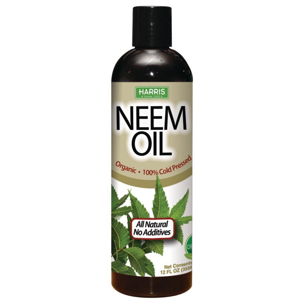 Harris 12 oz  100% Cold Pressed Unrefined Cosmetic Grade Neem Oil