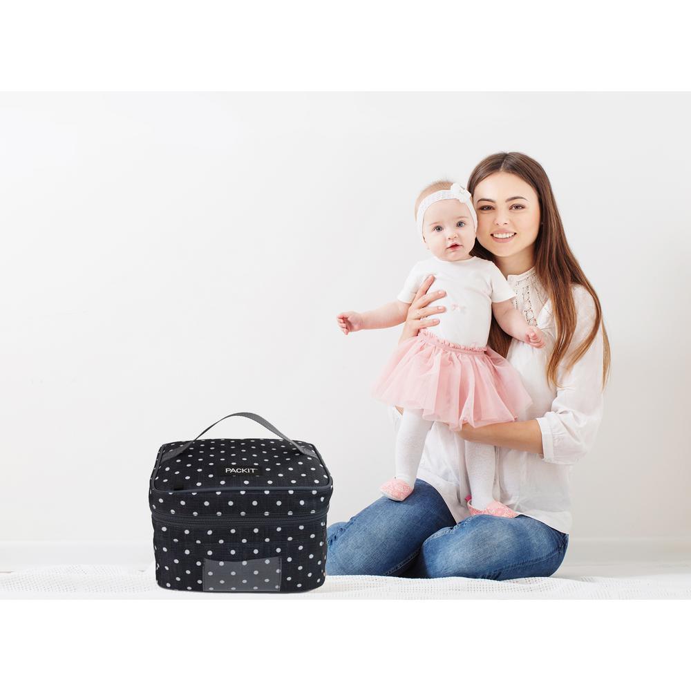 Packit Polka Dots Breastmilk and Formula Cooler PKT-BC-POL