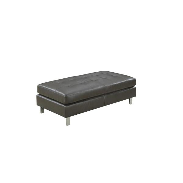 Cool Logan Collection Gray Ottoman Pabps2019 Chair Design Images Pabps2019Com