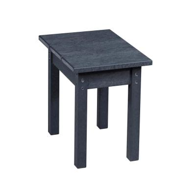 Recycled Plastic Greystone Rectangular Side Table