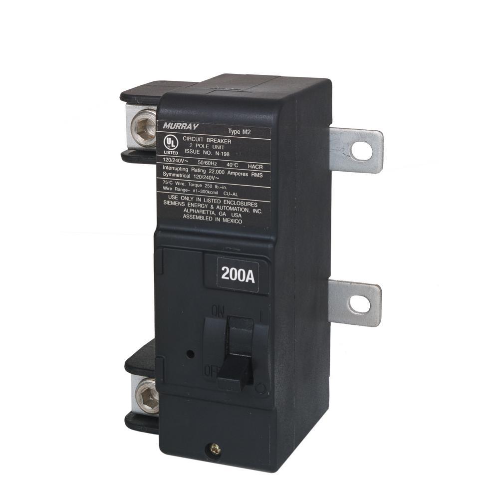 200 Amp Main Breaker Conversion Kit