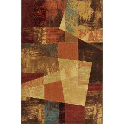 Catalina Multi Color 8 ft. x 10 ft. Indoor Area Rug
