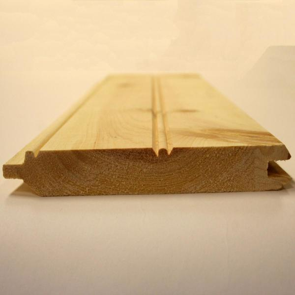 1 in. x 6 in. x 12 ft. Pine Board Pattern Tongue and Groove