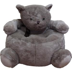 Internet #301389379. PDC FURNITURE Brown Plush Kids Bear Chair  sc 1 st  Home Depot & PDC FURNITURE Brown Plush Kids Bear Chair-BEARCHAIR - The Home Depot