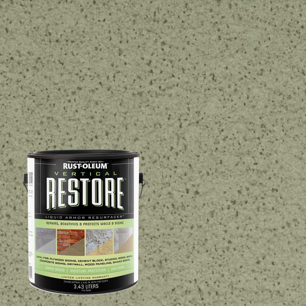Rust-Oleum Restore 1-gal. Marsh Vertical Liquid Armor Resurfacer for Walls and Siding