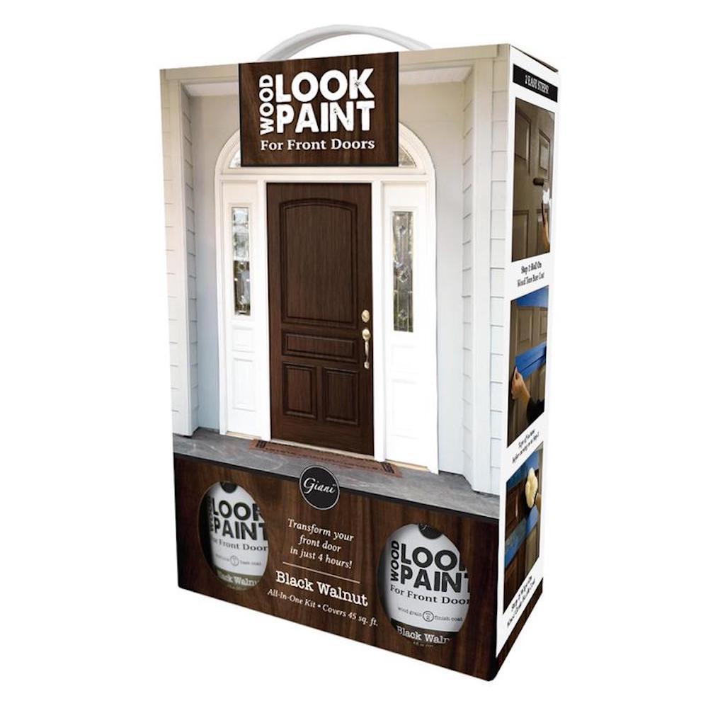 16 oz. Black Walnut Front Door Kit
