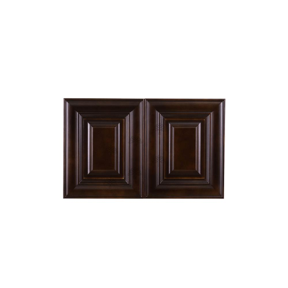 LIFEART CABINETRY Edinburgh Assembled 36 in. x 12 in. x 24 ...