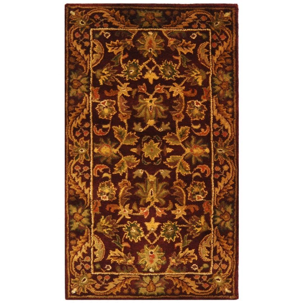 Safavieh Antiquity Wine/Gold 2 ft. x 3 ft. Area Rug
