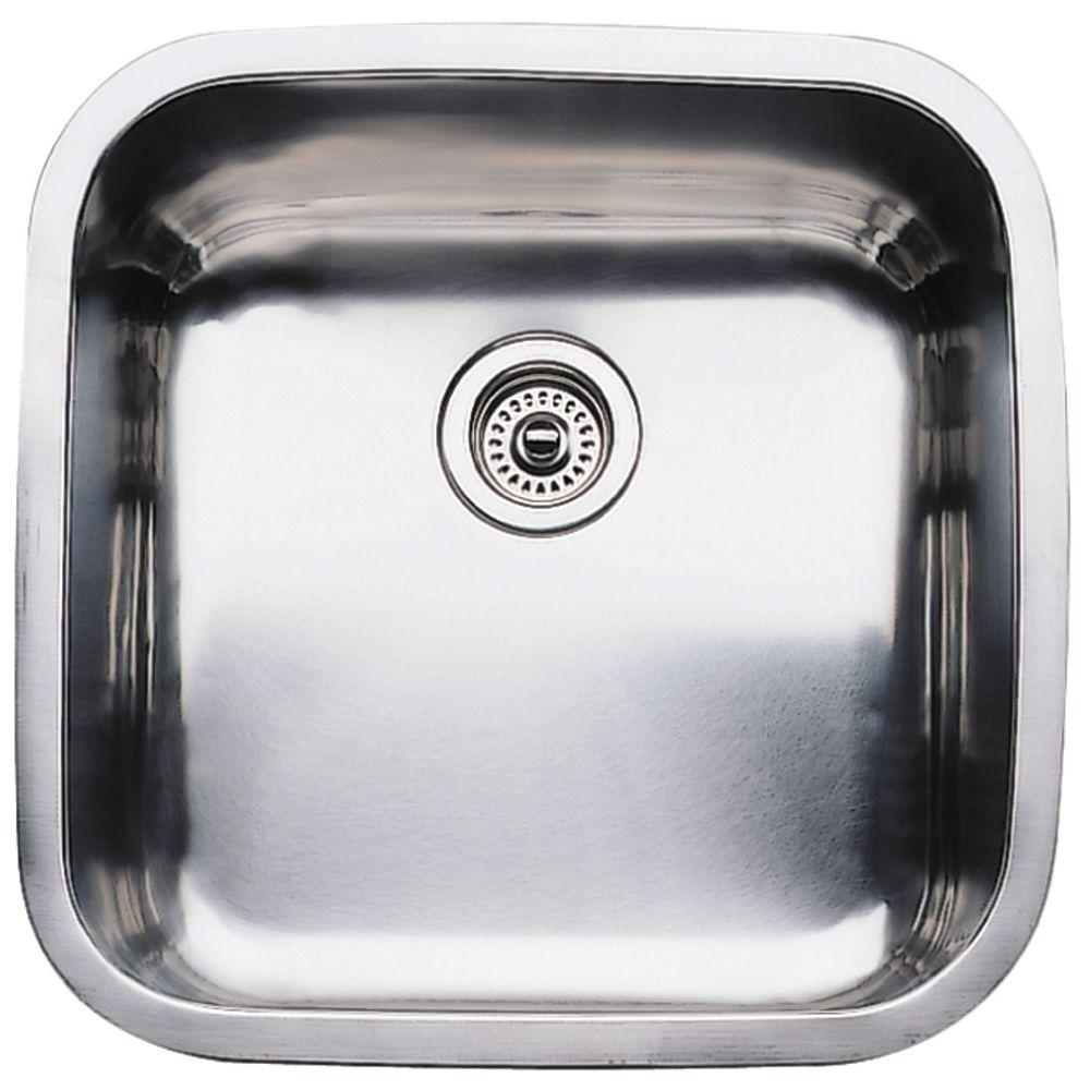 Blanco supreme undermount stainless steel 205 0 hole large blanco supreme undermount stainless steel 205 0 hole large single bowl kitchen sink workwithnaturefo
