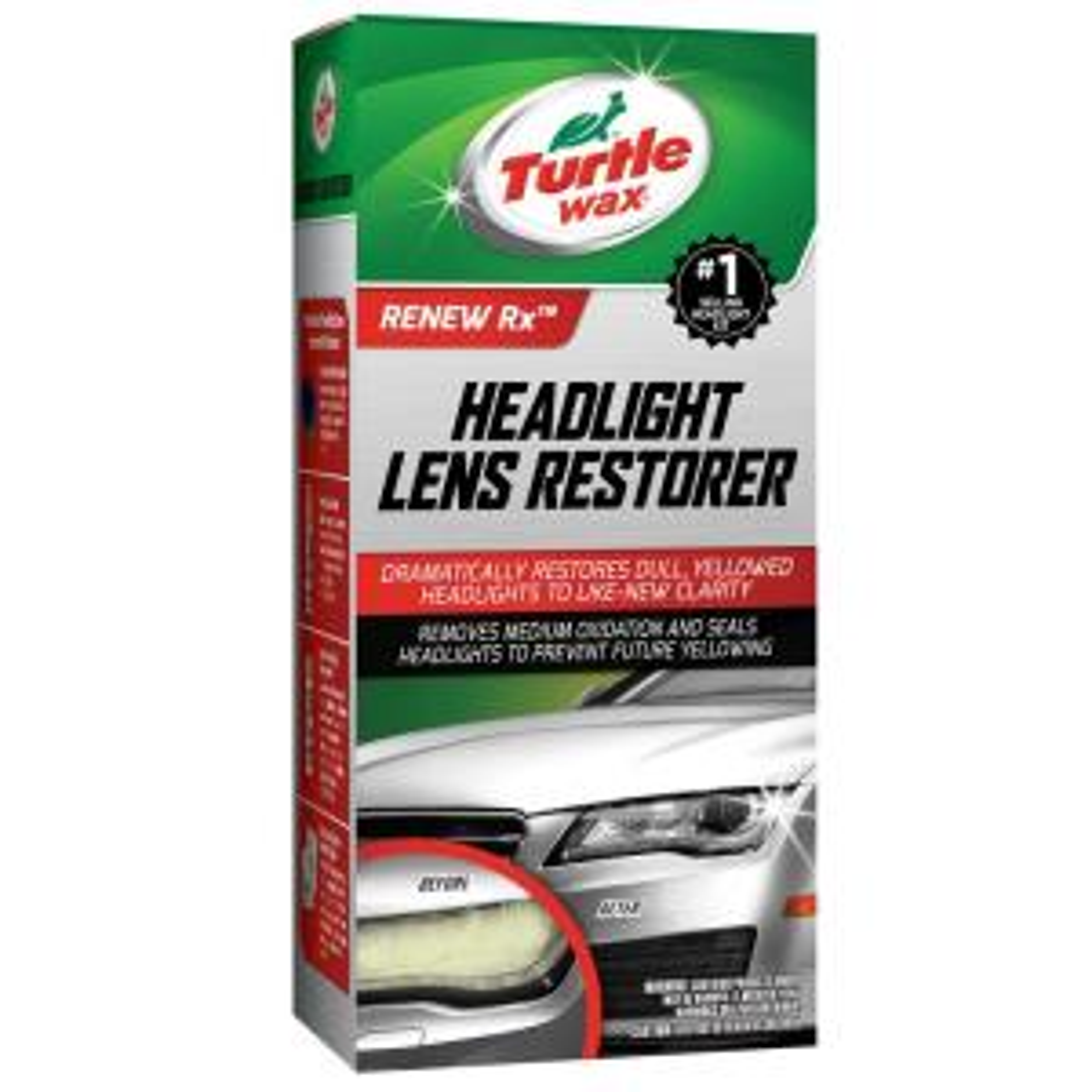 Turtle Wax 12 Oz Headlight Restorer Kit T240kt The Home Depot