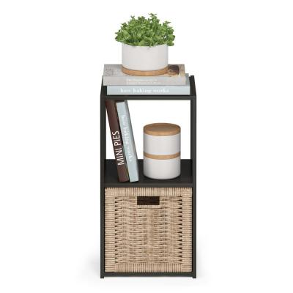 Pelli Espresso Cubic Storage Cabinet