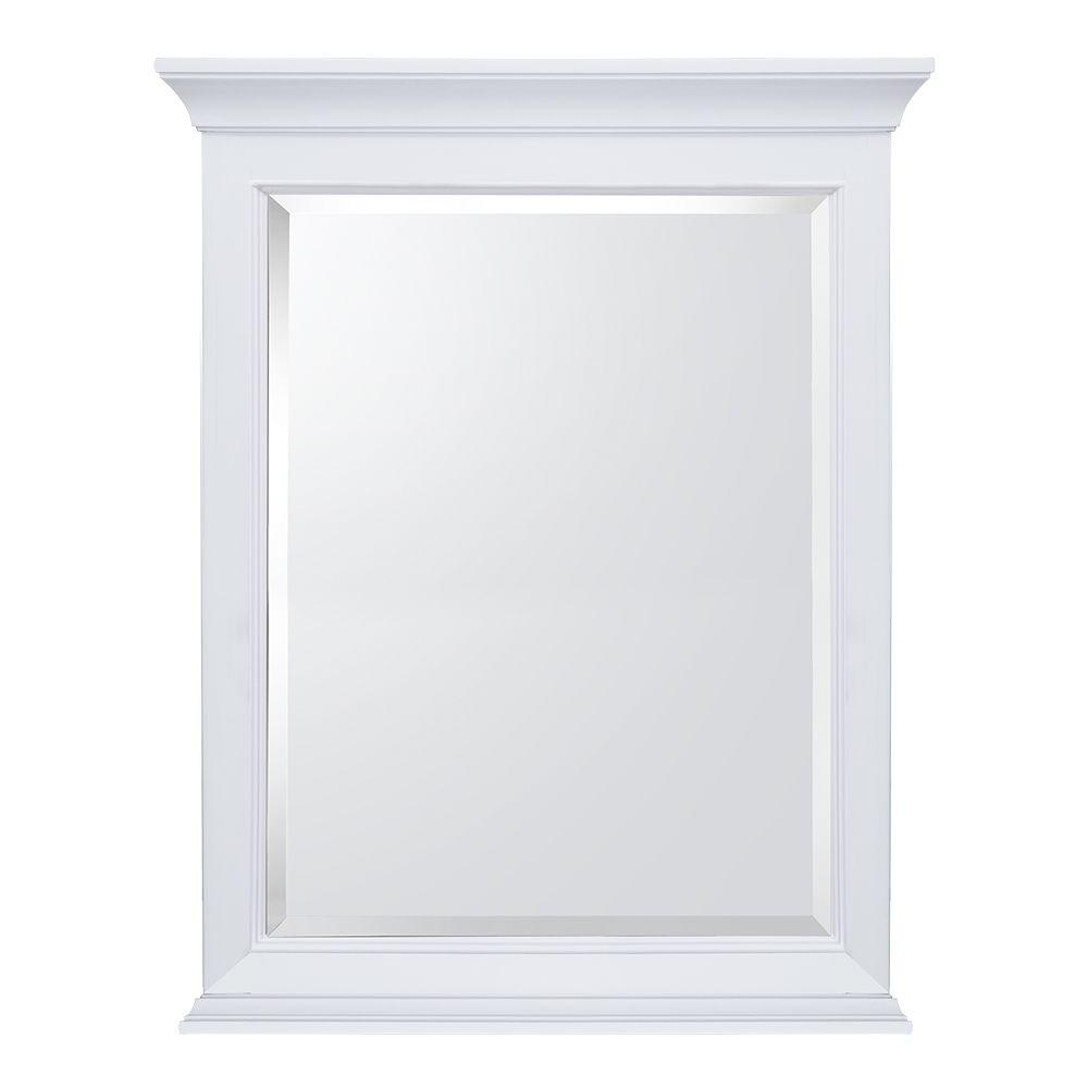 Home decorators collection moorpark 24 in w x 31 in h for White mirror