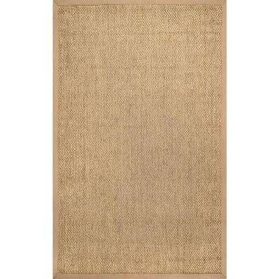 Natural Cindy Sand 10 ft. x 14 ft. Area Rug