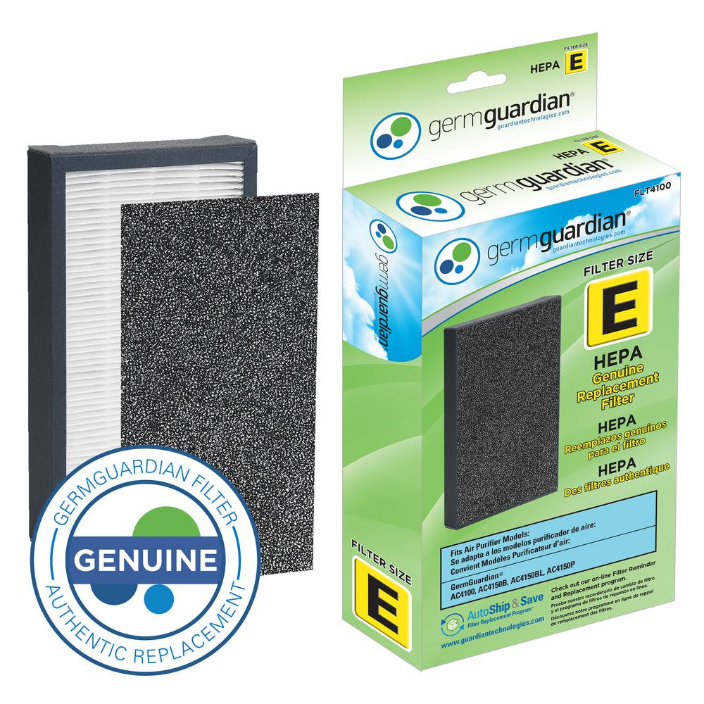 GermGuardian HEPA GENUINE Replacement Filter E for AC4100 Air Purifier