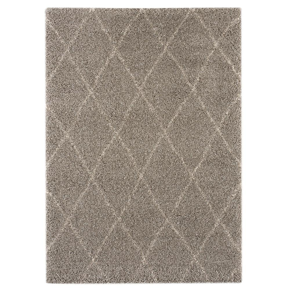 Cole Grey 8 ft. x 10 ft. Area Rug
