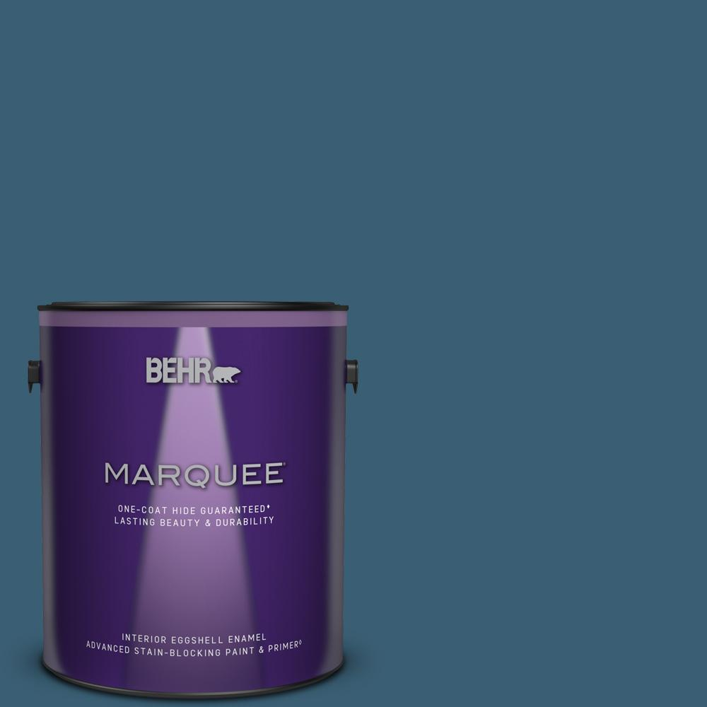 BEHR MARQUEE Superior Blue paint color. #behrsuperiorblue #bluepaint #paintcolors #bestbluepaint