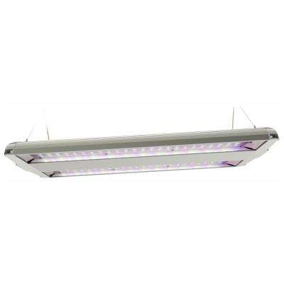 14 in. 86-Watt Integrated Full Spectrum LED Non-Dimmable Indoor High Bay Plant Grow Light Fixture, Daylight (2-Pack)