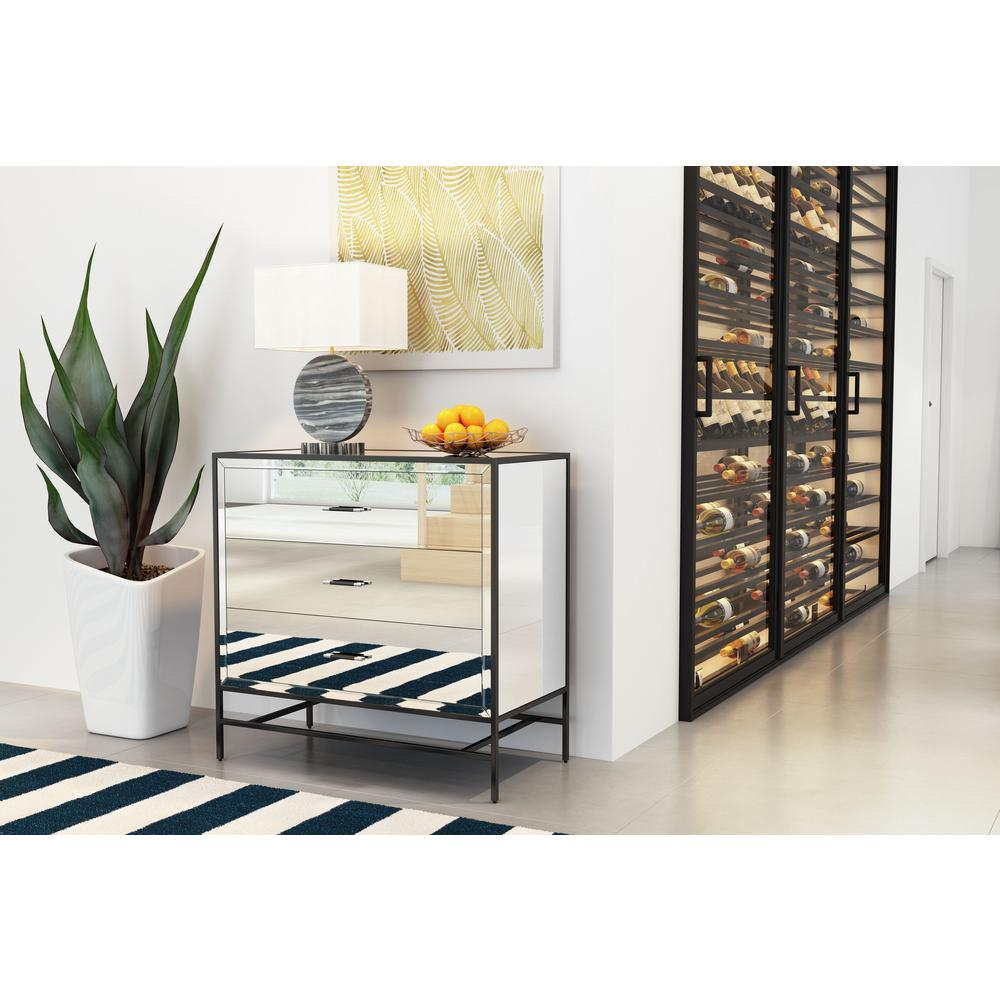 ZUO Upton Mirror And Metal Cabinet