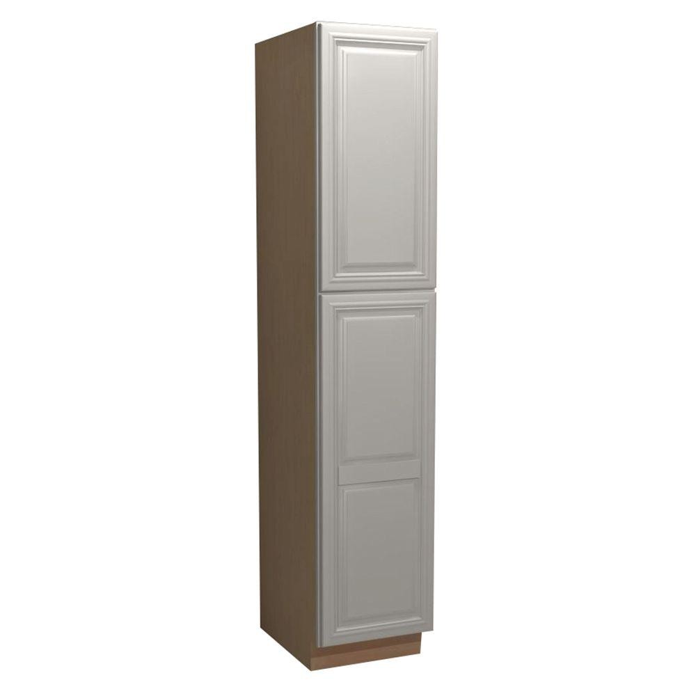 Home Decorators Collection Coventry Assembled 18 X 84 X 24 In Pantry Utility 2 Single Door 4