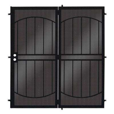 Arcada MAX Patio Steel Security Door With Perforated Metal Screen