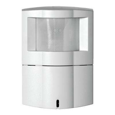 1200 sq. ft. 10/30-Volt DC Passive Infrared Occupancy and Vacancy Sensor Wall Corner Mount, White