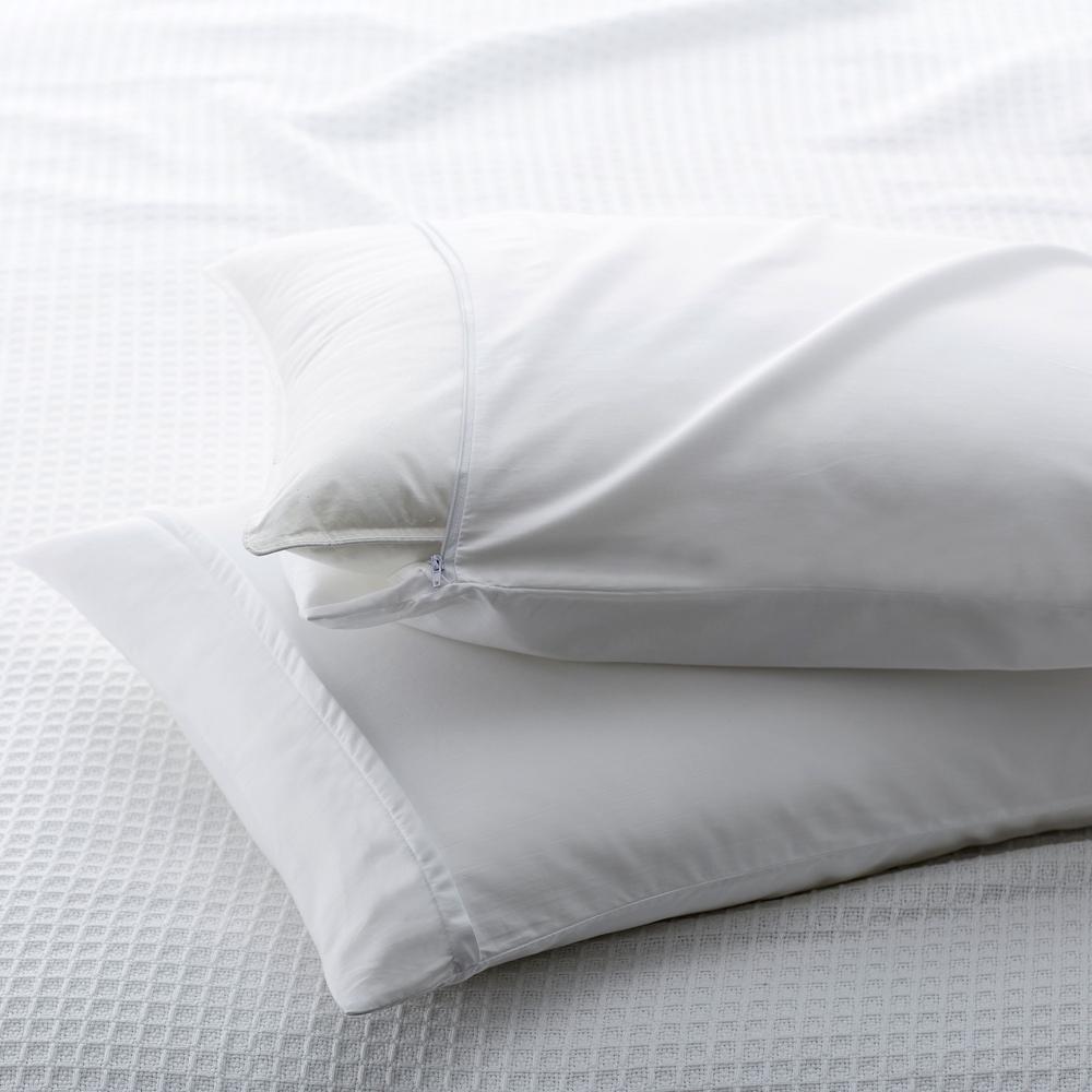 300 Thread Count Cotton Sateen Standard Pillow Protector