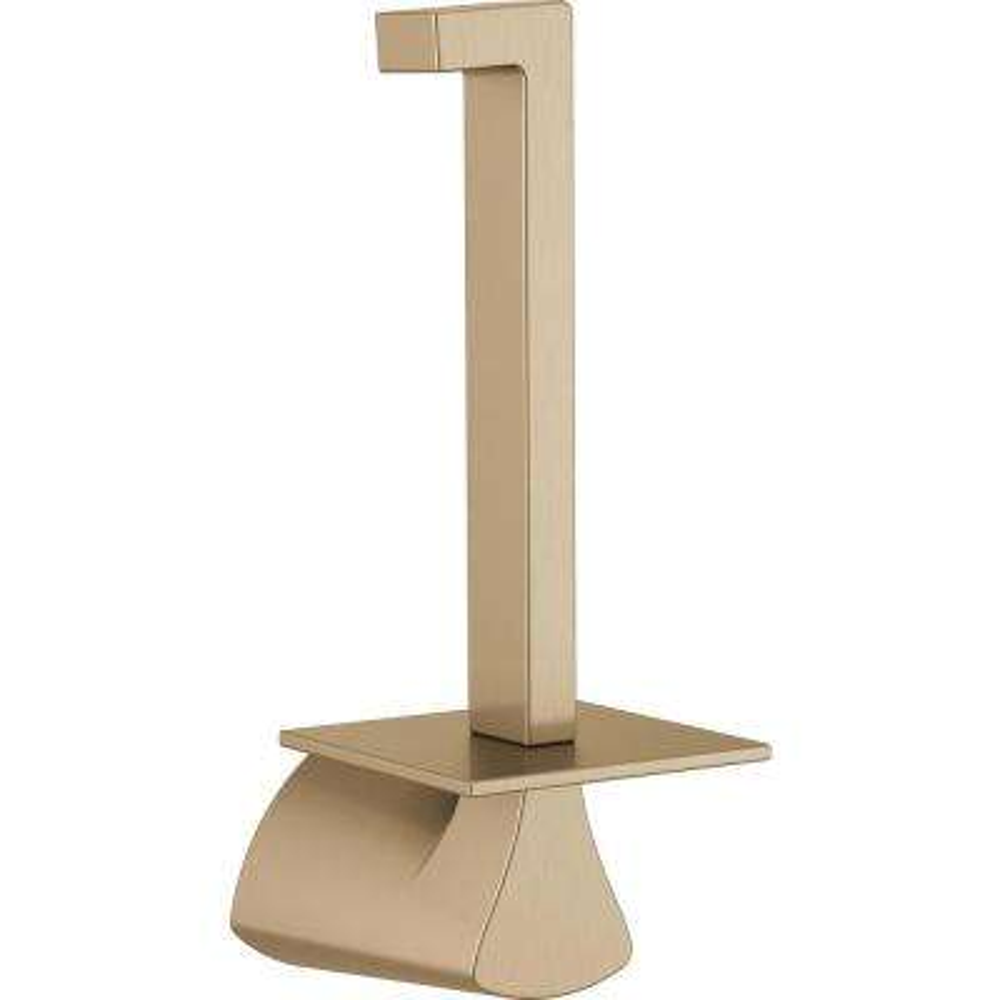 Zura Vertical Toilet Paper Holder in Champagne Bronze