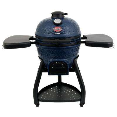 Ceramic AKORN Kamado Charcoal Grill in Sapphire Blue