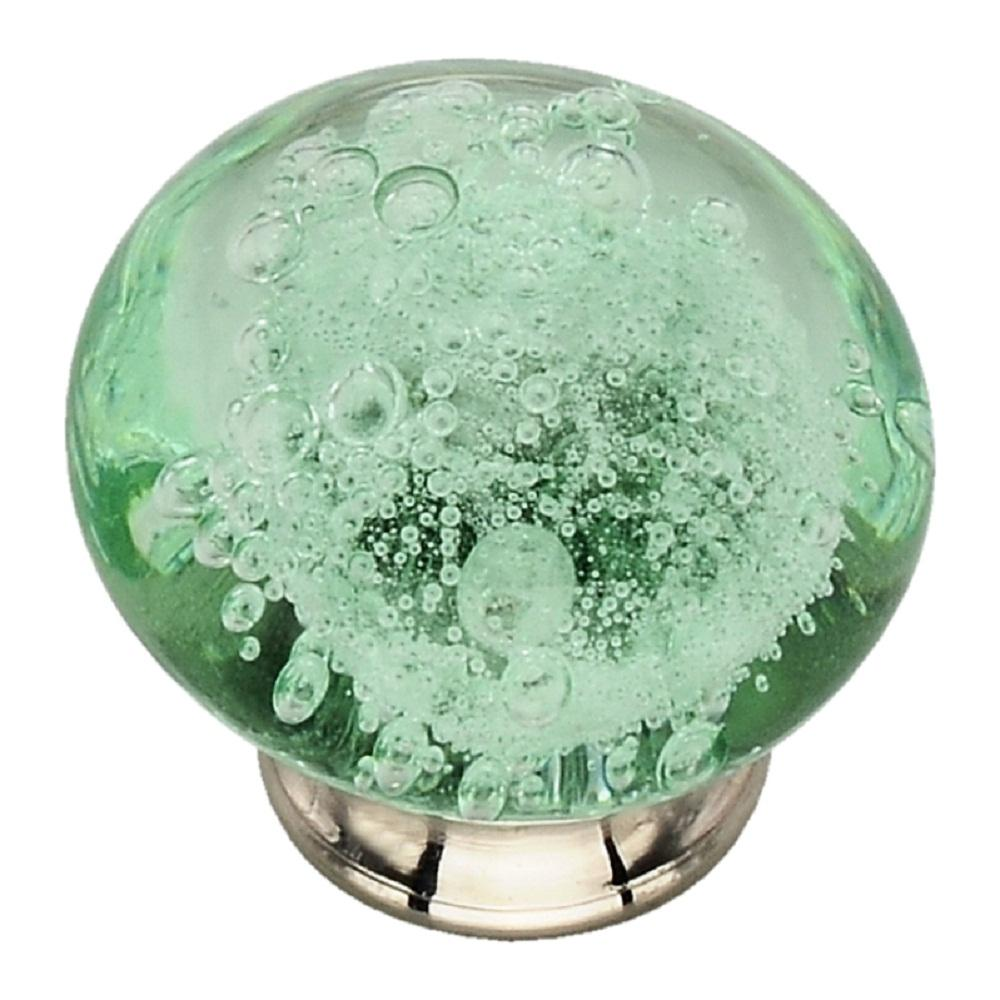 Image of: Green Glass Cabinet Knobs In New Green Glass Cabinet Knobs P06568 Captivating Sea On Knob Pulls Silver Mercury Round Mint Drawer
