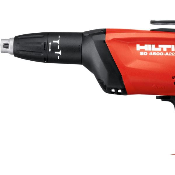 Hilti Drywall Screwdriver Hex Cordless Compact LED Indicator Li-Ion 22V 1//4 in.