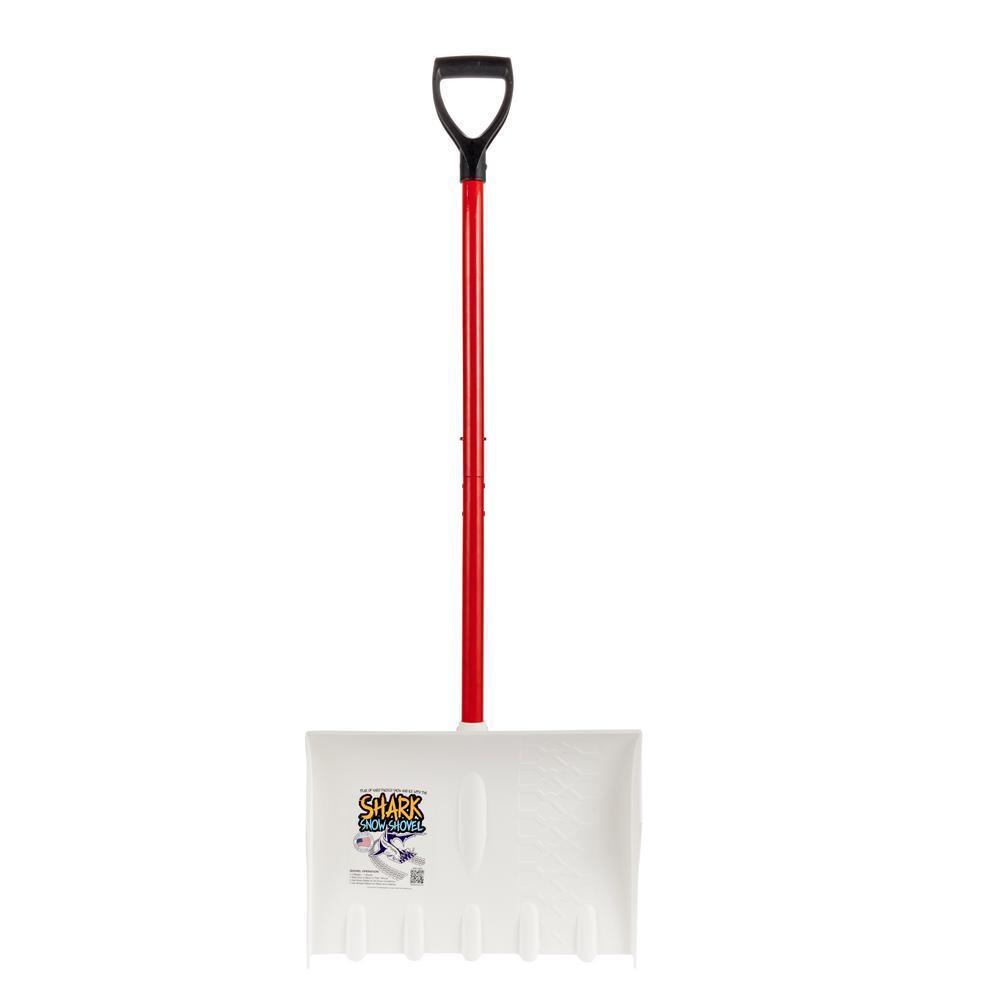 Shark Red Snow Shovel