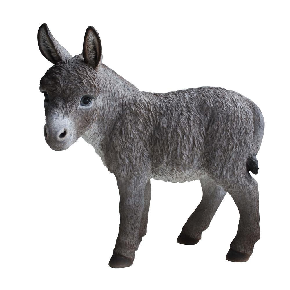 Standing Donkey Statue