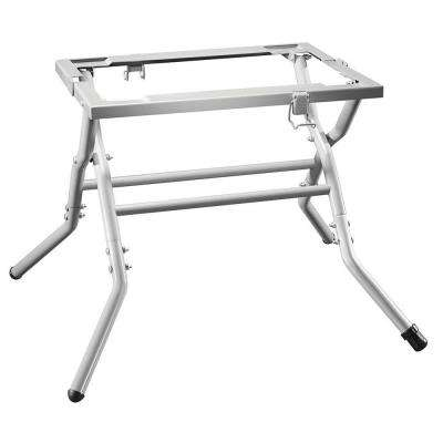 Portable Jobsite Worm Drive Table Saw Stand with Fold-Out Design for Use with SPT70WT