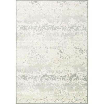 Infinity Ivory/Gray 8 ft. x 10 ft. Indoor Area Rug