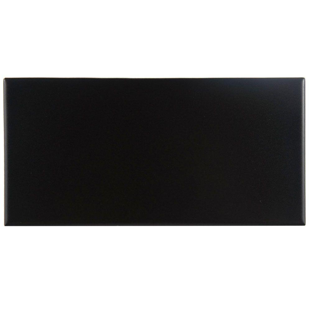 Black - Ceramic Tile - Tile - The Home Depot