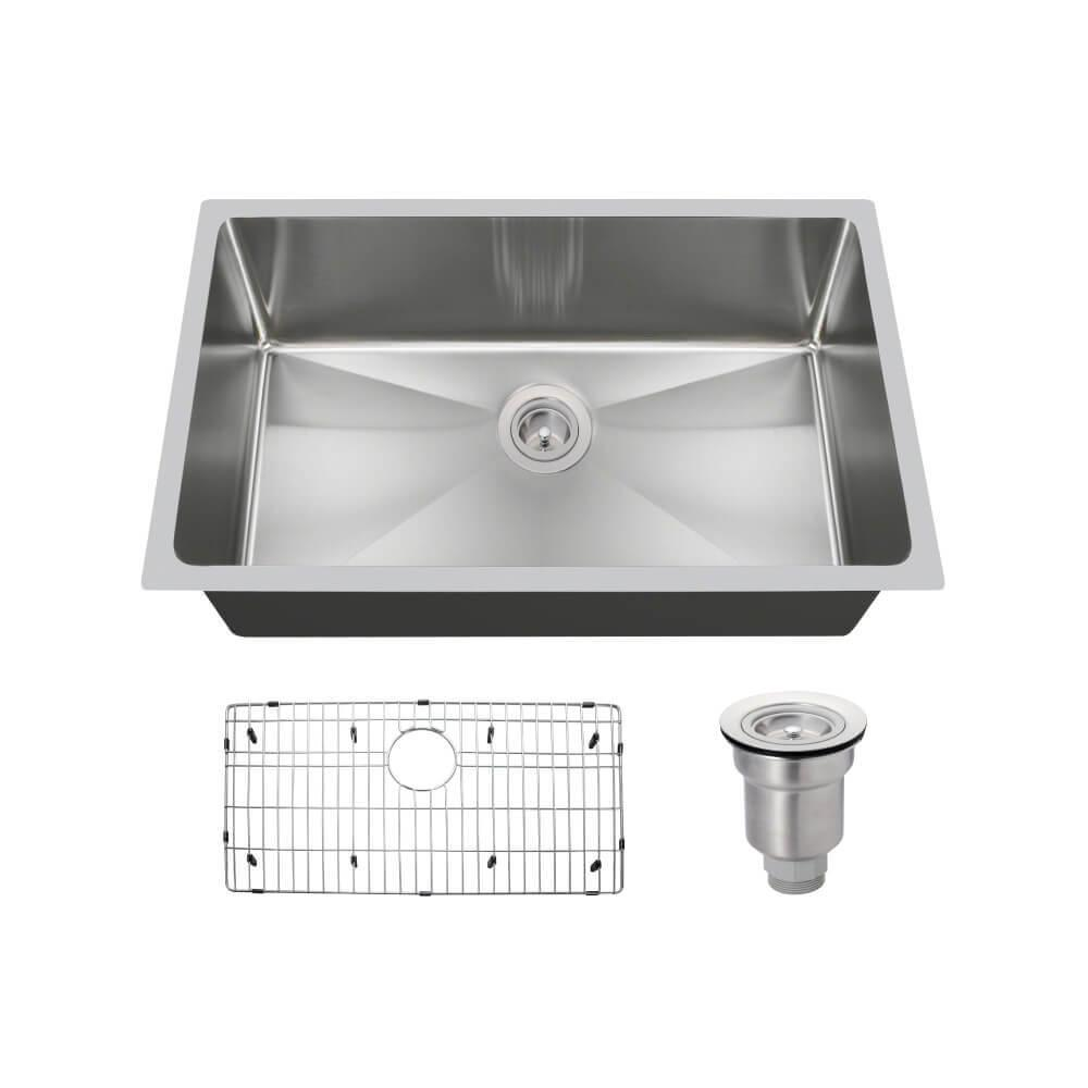 all in one kitchen sink mr direct all in one undermount stainless steel 31 in 7422
