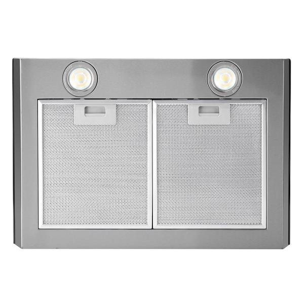 Streamline 30 In 480 Cfm Convertible Wall Mount Range Hood In Stainless Steel With Mesh Filter Touch Control Led Lights S 120msh 30 The Home Depot