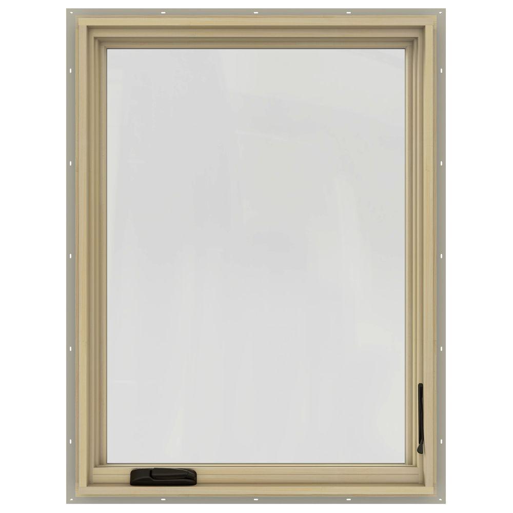 28.75 in. x 40.75 in. W-2500 Right-Hand Casement Wood Window