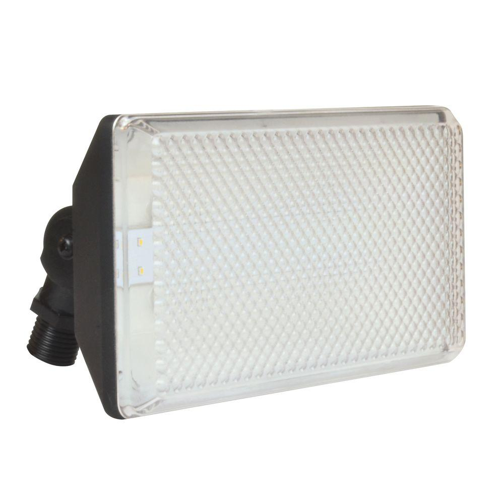 Aspects 13.5-Watt Black Outdoor Integrated LED Flood Light