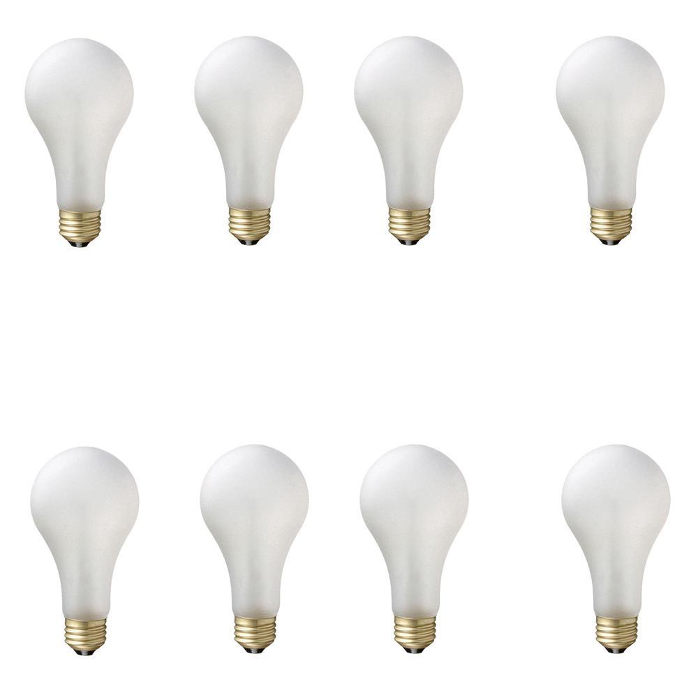 75-Watt A21 Shatter Resistant Dimmable Incadscent Tuff Guard Light Bulb Soft White (2800K) (8-Pack)
