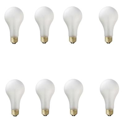 75-Watt A21 Shatter Resistant Dimmable Incadscent Tuff Guard Light Bulb Soft White (2800K) (8-Pack)