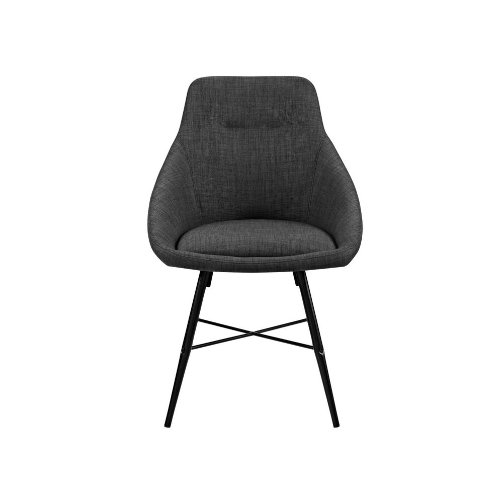 Walker edison furniture company charcoal urban upholstered side chair set of 2 hdh18urb2cl the home depot