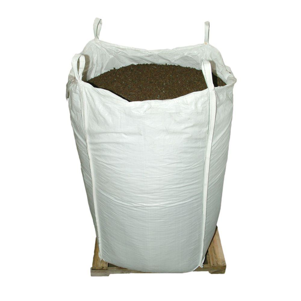 Vigoro 76.9 cu. ft. Mocha Brown Rubber Mulch