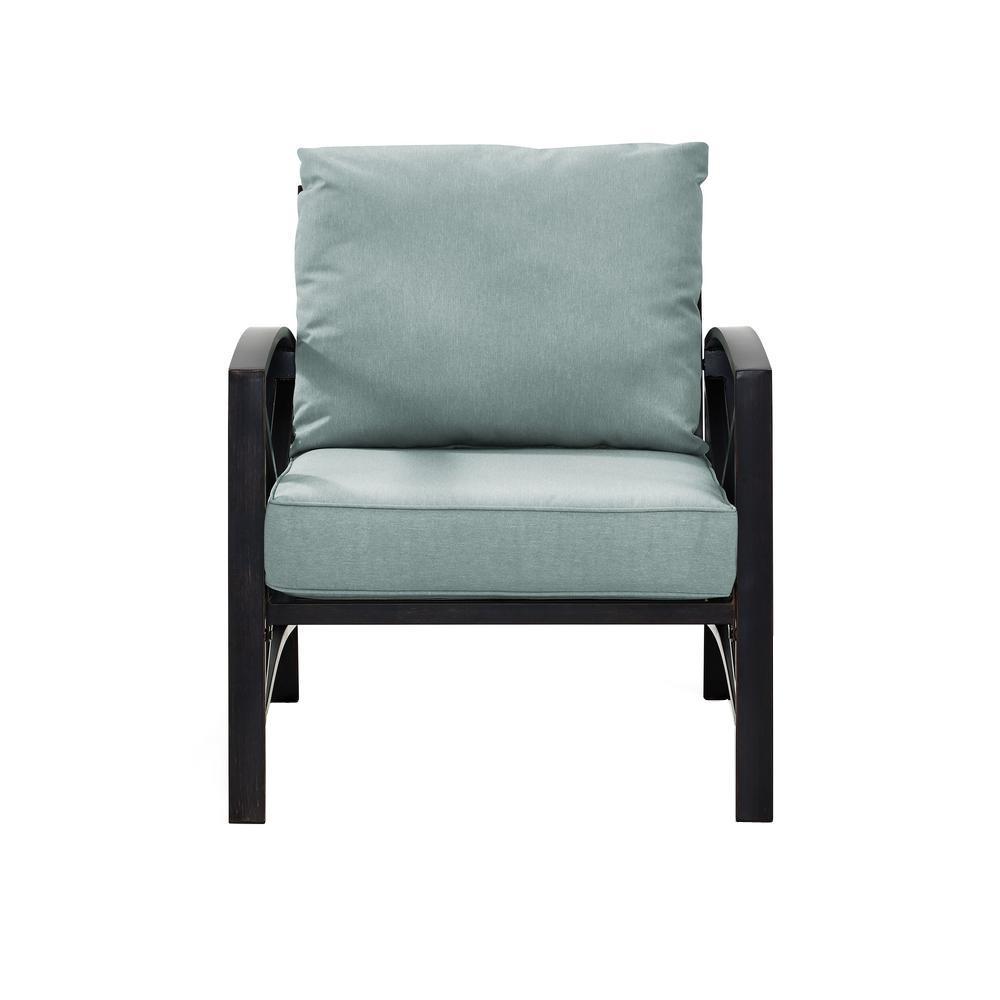 Crosley Kaplan Metal Outdoor Patio Lounge Chair with Mist ...
