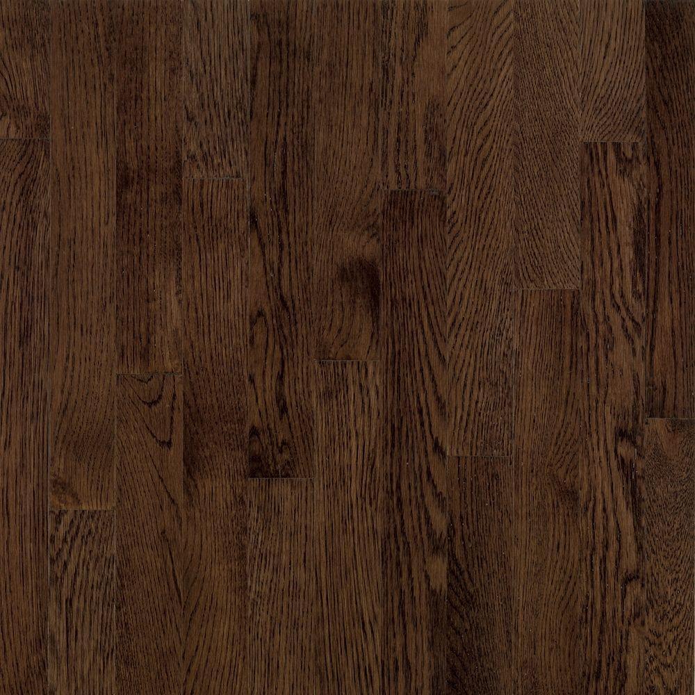 American Originals Barista Brown Oak 3/8 in. T x 5 in. W x Varying L Engineered Click Hardwood Flooring(22 sq. ft./case)