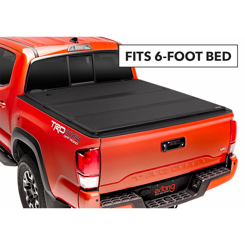Encore Tonneau Cover 17 19 Toyota Tacoma 6 Bed Trd Limited Models No Bolt Includes 2 Keys 62836 The Home Depot