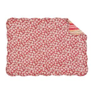 C & F Home Red Sadie Quilted Placemat (Set of 6) by C & F Home