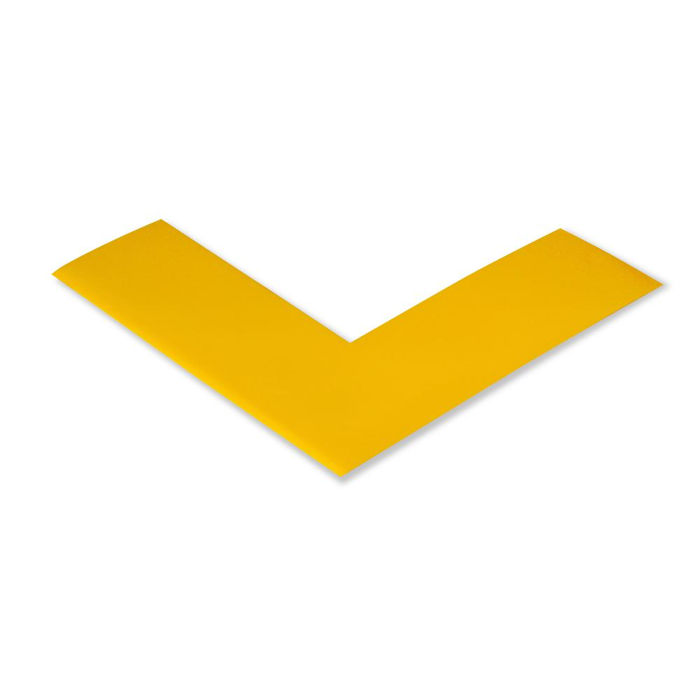 Mighty Line 2 in. Wide Safety Angle Floor Tape in Yellow (Pack of 100)
